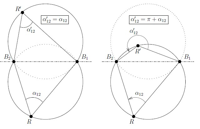 A new three object triangulation algorithm based on the